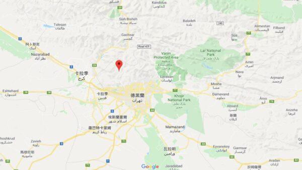 伊朗東北5.8地震 深度僅8公里尚未傳出災損