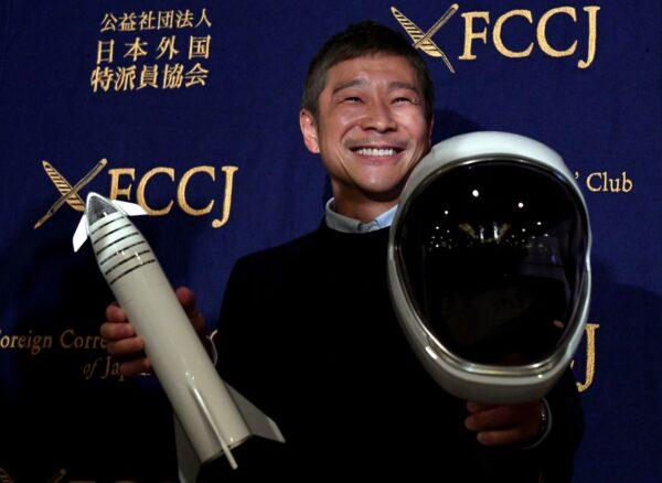 SpaceX首位繞月旅客 日富豪尋終生伴侶同行