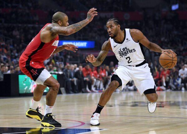 NBA里纳德生涯9000分达标 快船仍不敌掘金