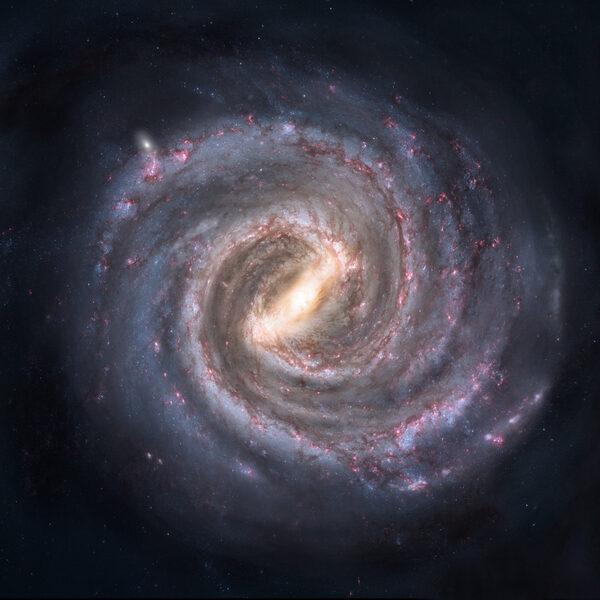 銀河系邊緣驚現巨型天體結構 大量新星湧現