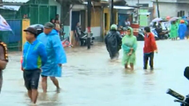 豪雨河川暴漲 雅加達跨年夜災情慘重