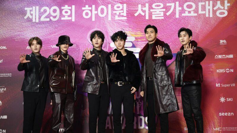Super Junior《I THINK U》於公信榜專輯榜摘冠