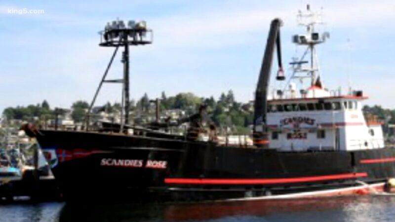 险恶海浪袭击 阿拉斯加捕蟹船沉没5船员失踪