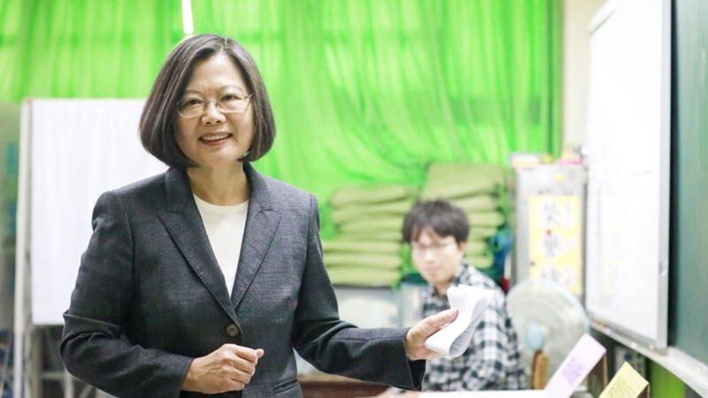 蔡英文:台灣人會為世界守住民主堡壘