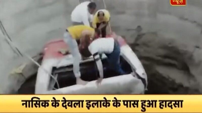 印度巴士撞三輪車栽入水井 釀26死32傷