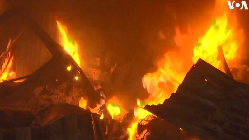 尼日利亚油管遭破坏 商业中心陷火海酿4死