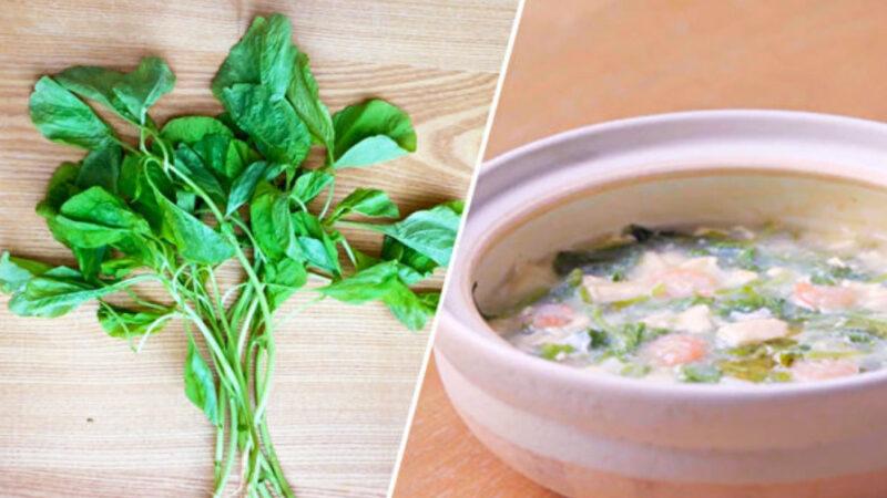 净化血液吃苋菜 4步做苋菜豆腐羹(组图)