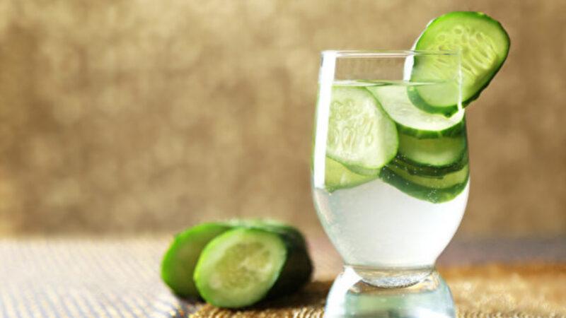 补水护肤喝这杯!黄瓜水对身体有7大好处(组图)