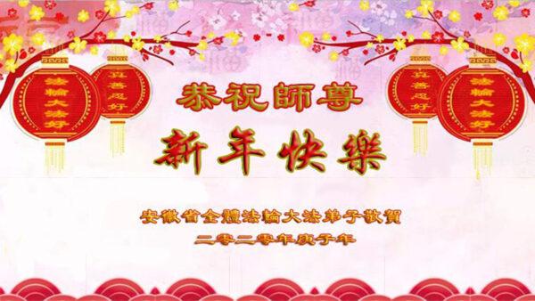 安徽法輪功學員恭祝李洪志大師新年好(24條)