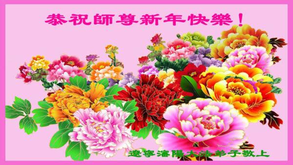 瀋陽法輪功學員恭祝李洪志大師新年好(27條)