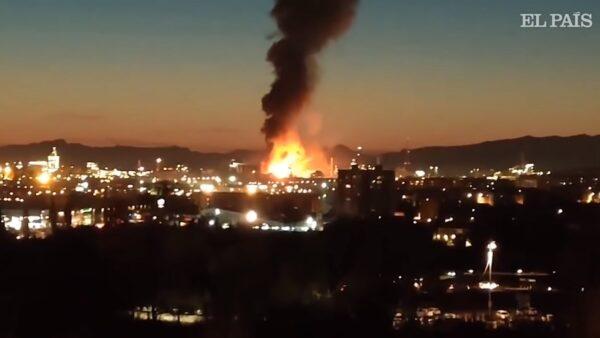 加泰罗尼亚化学工厂爆炸 引发冲击波酿1死6伤