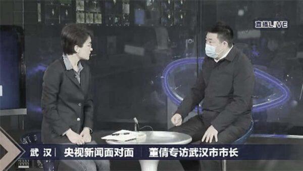 武汉市长上央视罕见甩锅北京:未及时披露因无授权