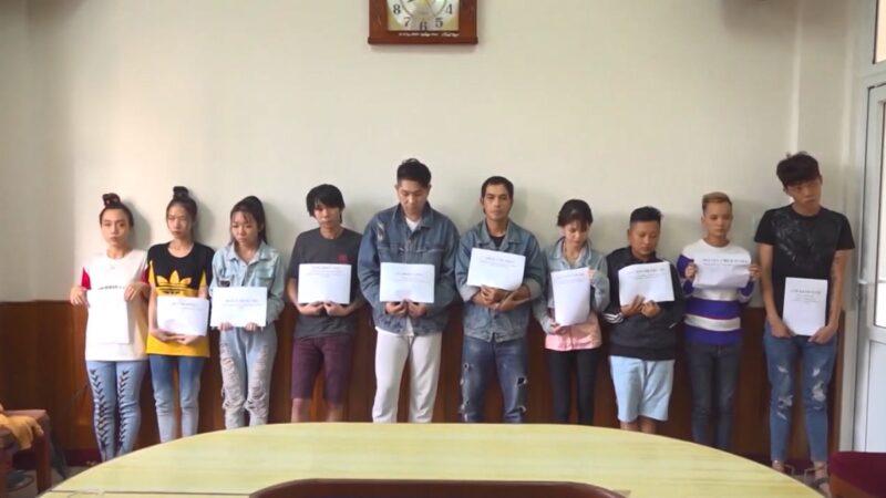 越南警逮10名詐騙犯 幕後主使至少1名台灣人