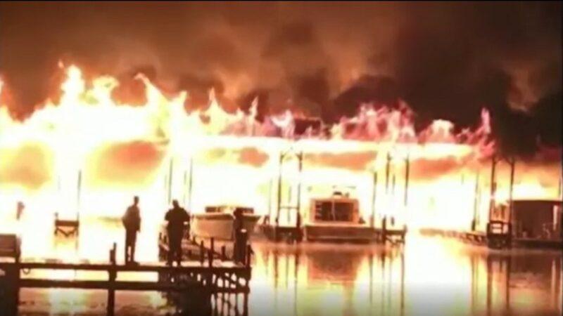 火燒連環船 美阿拉巴馬州碼頭大火釀至少8死7傷