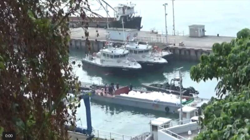 追逐走私船 香港巡邏艇翻覆 3海關殉職