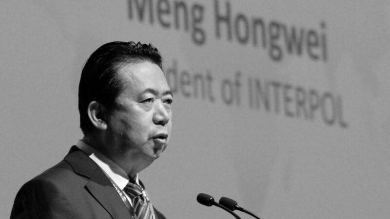 国际刑警组织前主席孟宏伟受贿判囚13年
