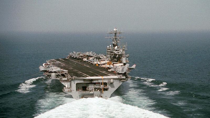 朝鲜扬言不遵守核试承诺 美军罗斯福号航母赴东亚