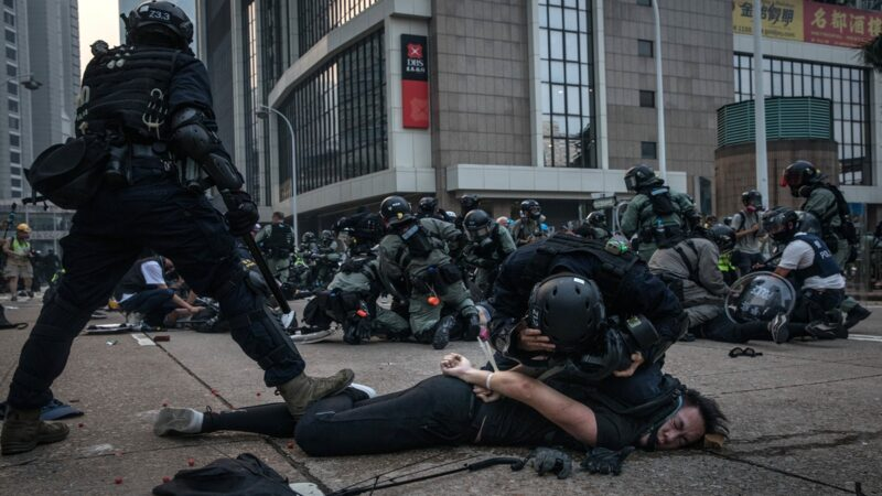 美军报告:反送中期间疑中共武警秘密介入香港