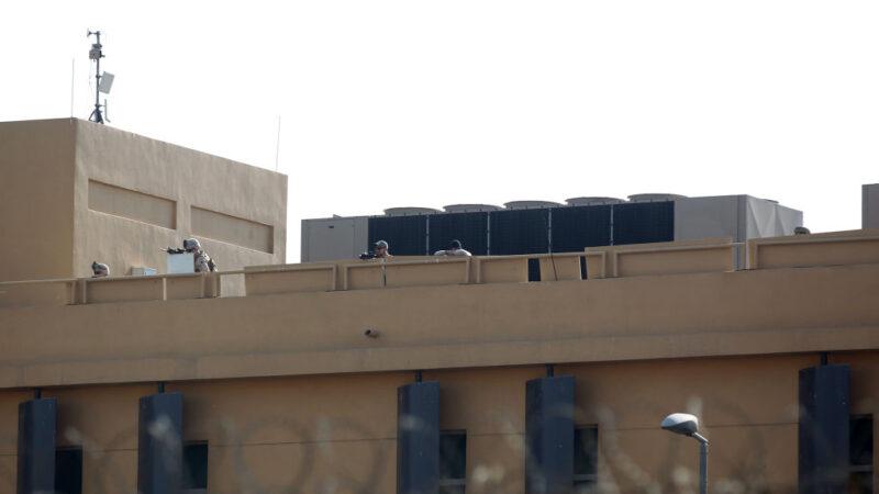美大使館首次遭鎖定攻擊 總理憂將伊拉克拖進戰爭