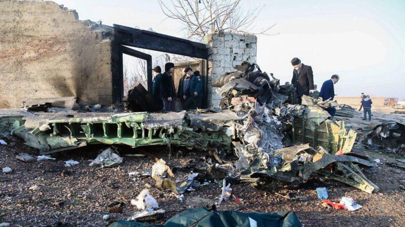 烏航墜機176人死 美英加:遭伊朗飛彈擊中