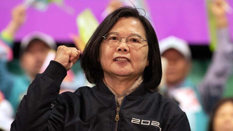 蔡英文:民主這條路,台灣走得很辛苦