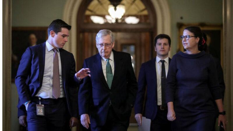 民主党弹劾案受挫 麦康奈尔:参院有权自订审讯规则