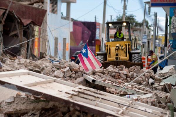 波多黎各遇百年来最强地震 全国2/3断电