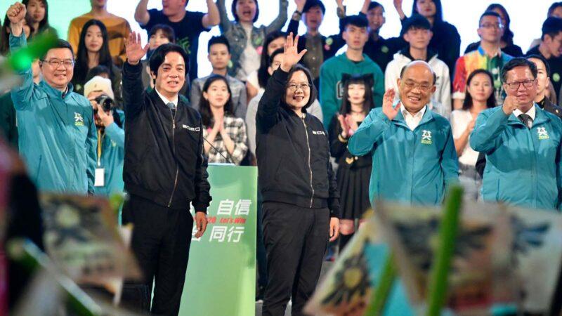 台灣民進黨立委確定單獨過半 繼續完全執政