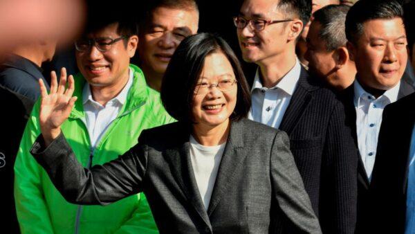 蔡領先韓百萬票 前國大:台灣人用選票甩中共巴掌