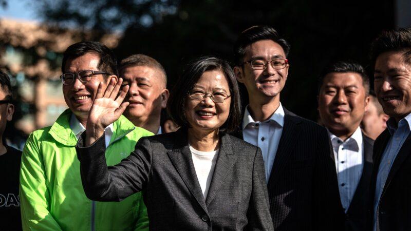 蔡英文胜选演讲:见证我们对民主的承诺