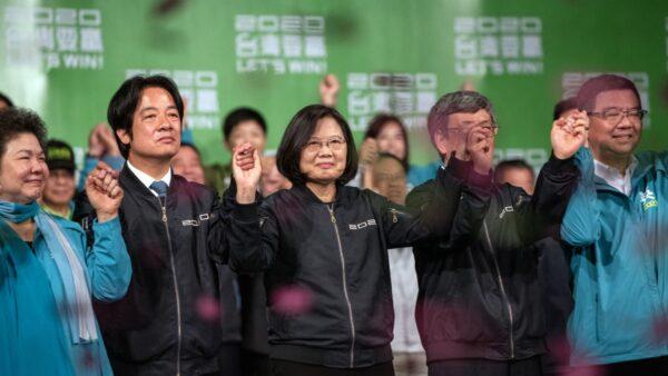 蔡英文得票比林郑多一万倍 助推港人反共潮