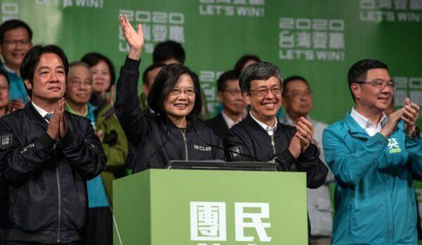 蔡英文碾壓式勝選國際祝賀如雪片 法新社:北京遭重擊