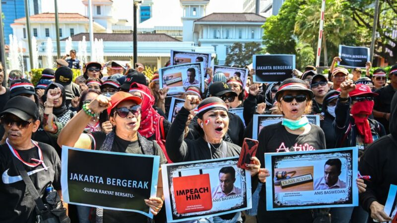 天災?人禍?印尼跨年水患 災民控告雅加達省長