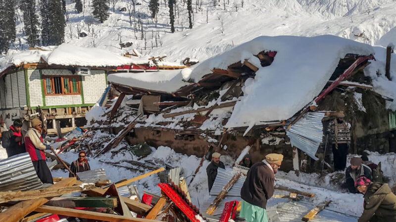 克什米爾大雪崩釀逾百死 天候嚴峻搜救難