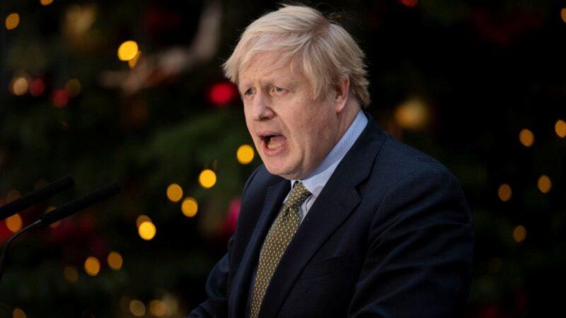 約翰遜新年致辭:英國將於近幾周內完成脫歐
