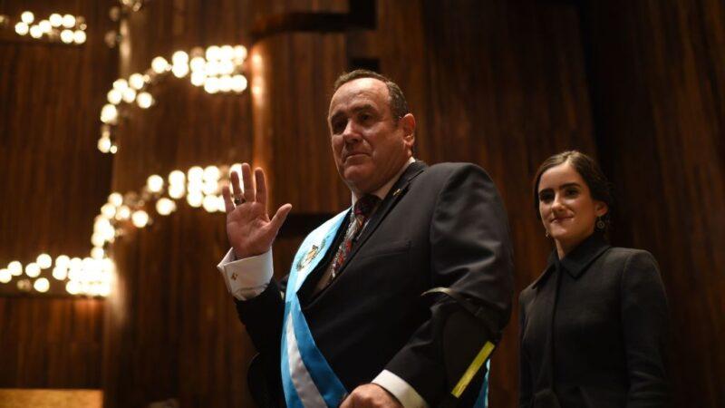 危地馬拉總統就職怪象多 官員為取豁免權爭奪官位