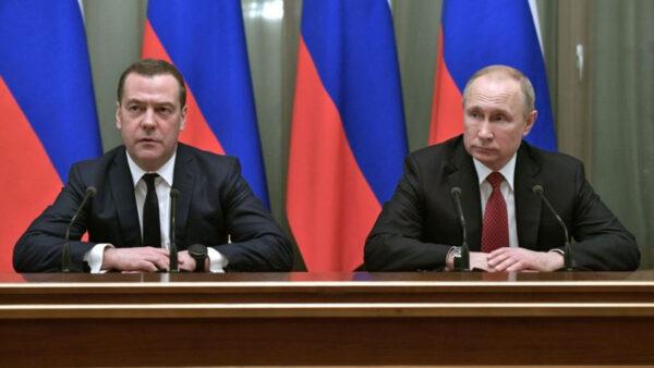 不滿修憲影響權力平衡? 俄總理宣布政府全體辭職