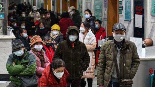 上海也慌了 市民為買口罩大打出手(視頻)
