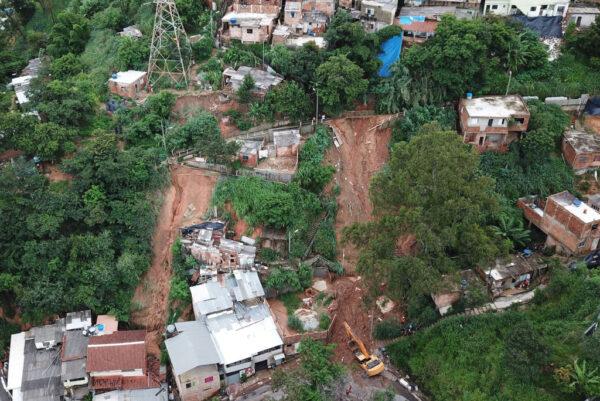 110年来最猛烈暴雨 巴西东南部至少30死17失踪