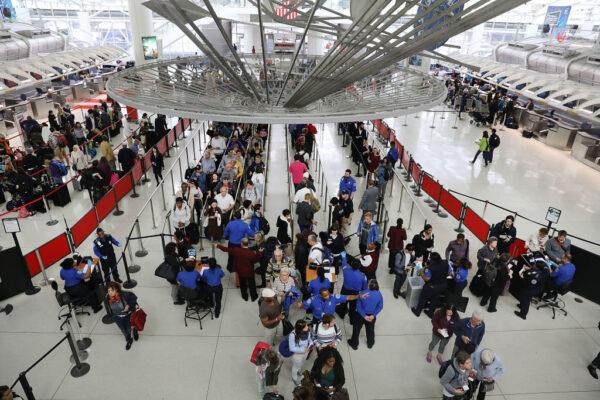 防肺炎擴散 美三大機場針對武漢航班進行篩檢