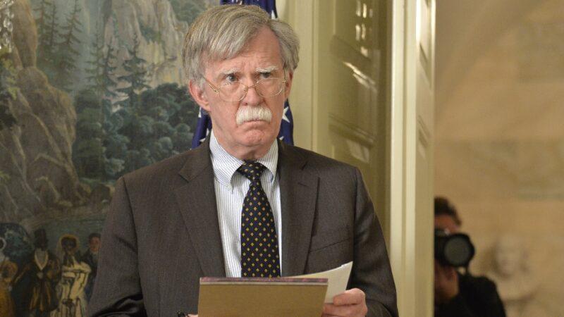 川普批博尔顿出书 白宫要求删除机密信息
