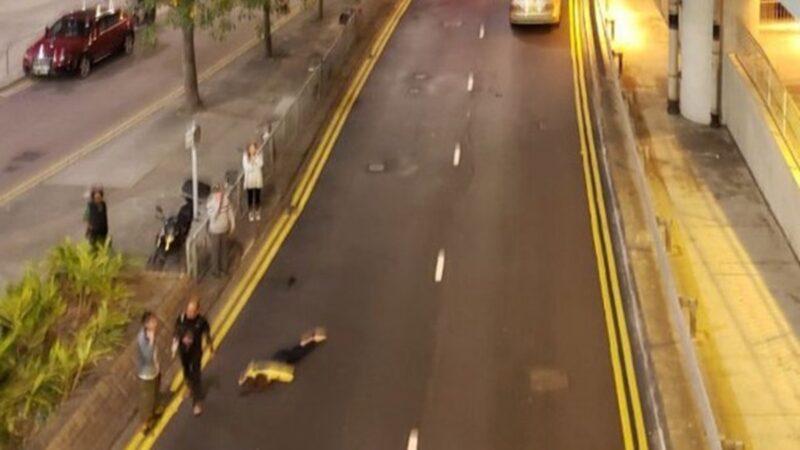 朗屏站列车停驶 港铁女车长离开驾驶室高处坠亡