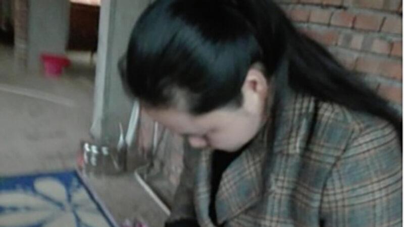 """""""泼墨女孩""""董瑶琼获释 被喂药性情大变"""