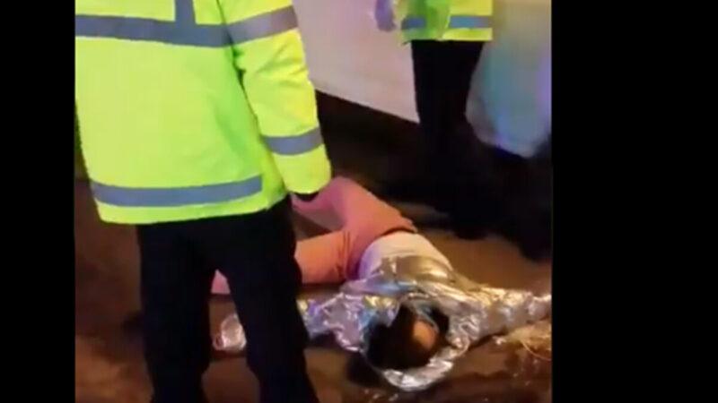 黑龍江封城恐怖一幕 女孩疑被警察扭斷脖子(視頻)