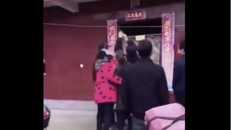湖北人反抗了!警察开枪也无惧(视频)