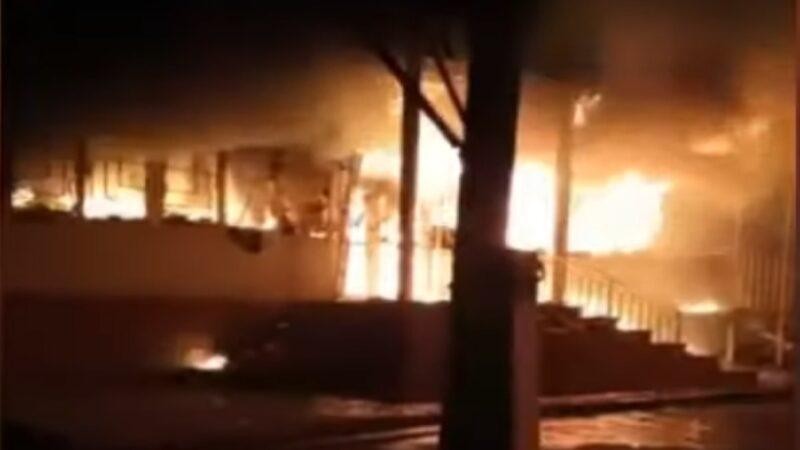 村民鬥毆沿街放火 哈薩克南部釀8死數十傷