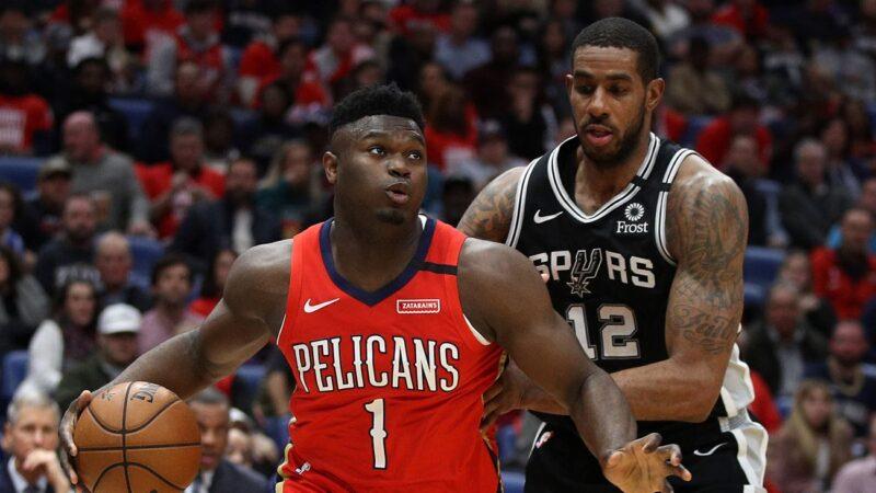 NBA鹈鹕逆转开拓者 状元锡安创三项纪录