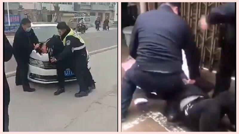 疫情亂象視頻集錦:小女孩沒戴口罩 被警察撲倒慘叫