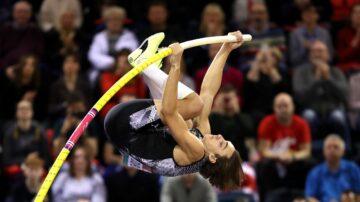 瑞典撐竿跳天才 一週兩破世界紀錄