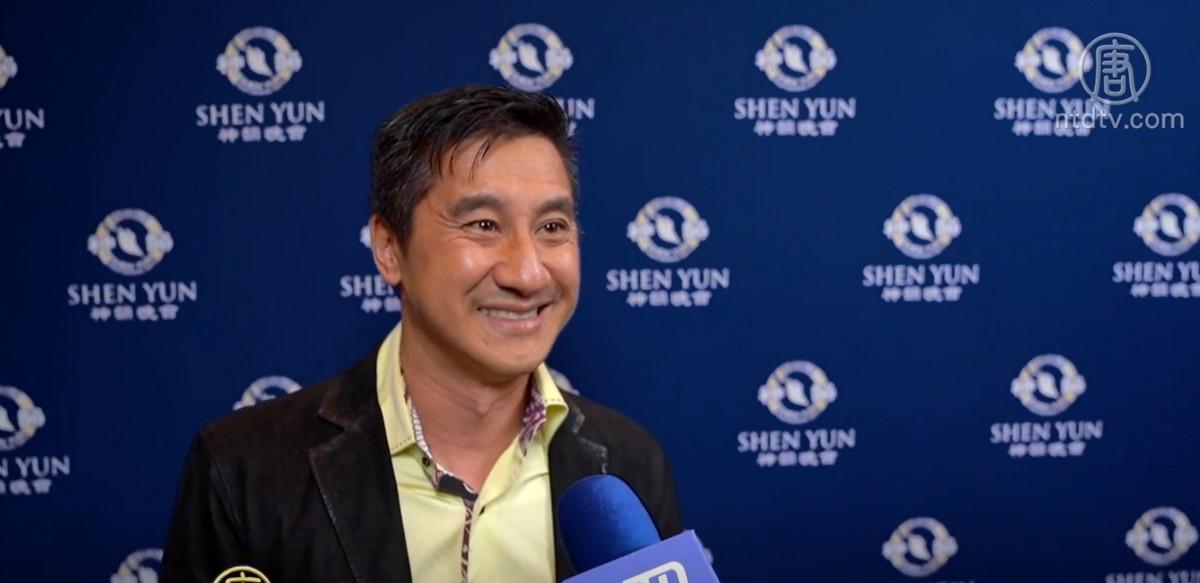 华裔公司老板:神韵复兴传统 富有神性美